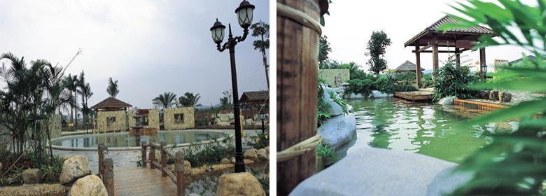阳江温泉实景图片