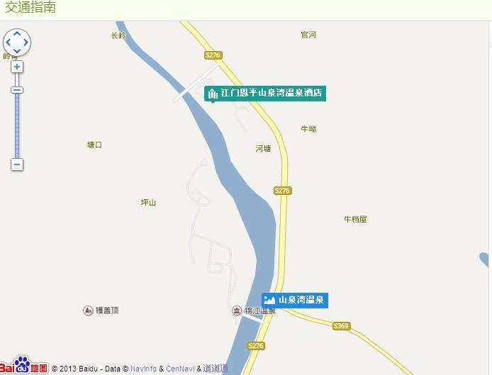 山泉湾温泉地图展示