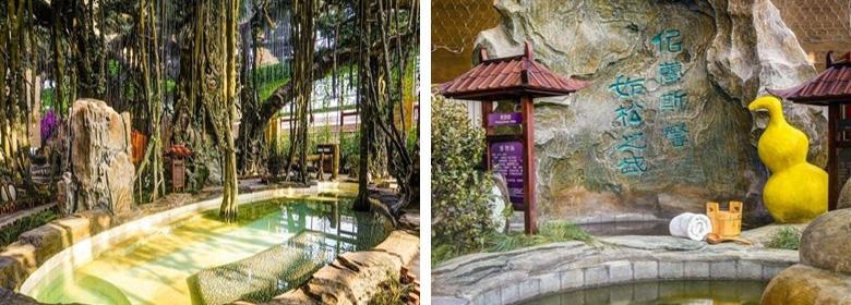 光合谷温泉实景图片