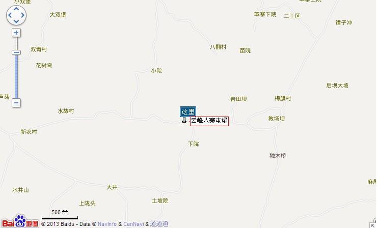 云峰屯堡地图展示