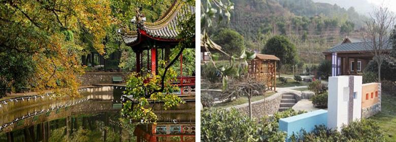 九峰温泉实景图片