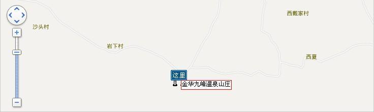 九峰温泉地图展示