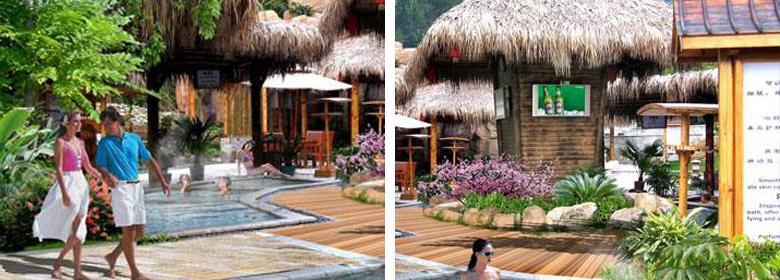 雷山温泉实景照片