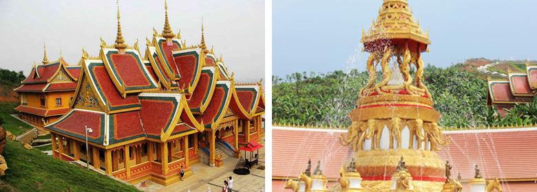 勐泐大佛寺实景照片