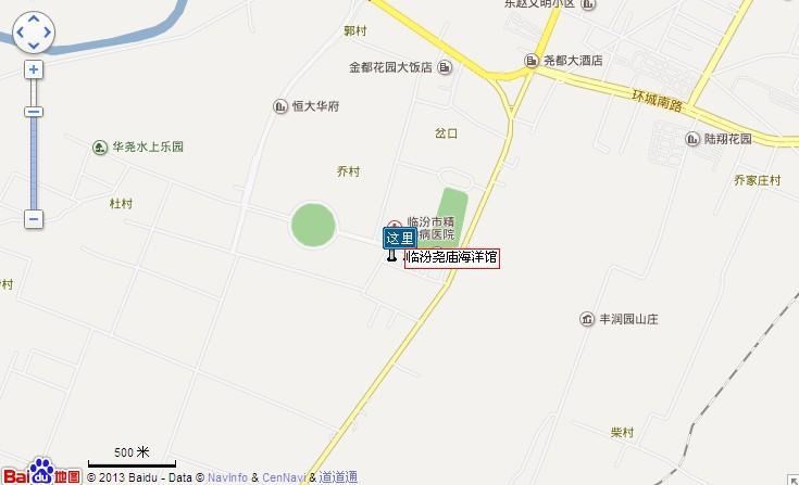 尧庙海洋馆地图展示