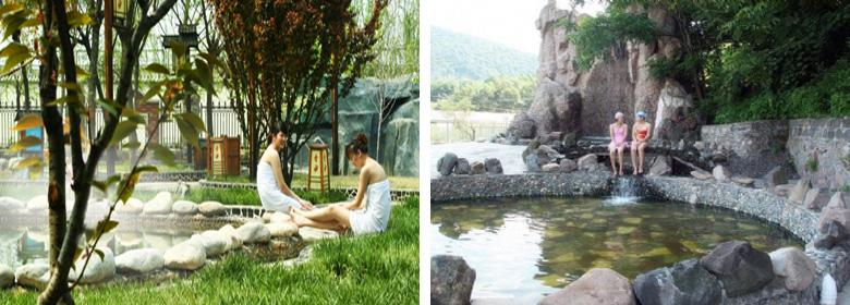 仙人桥温泉图片赏析