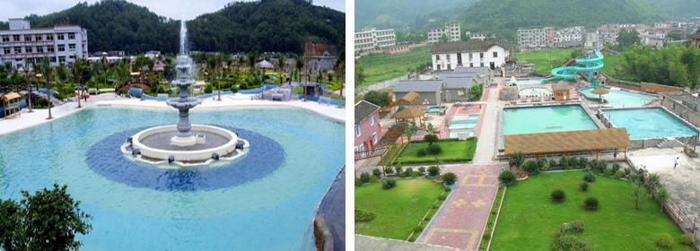 遂川汤湖温泉实景照片