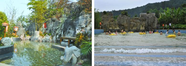 遵义海龙温泉实景照片