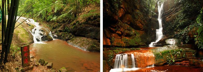 赤水红石野谷实景照片