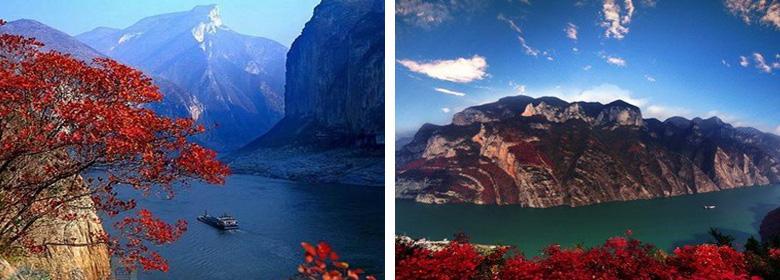 巫山小三峡实景照片