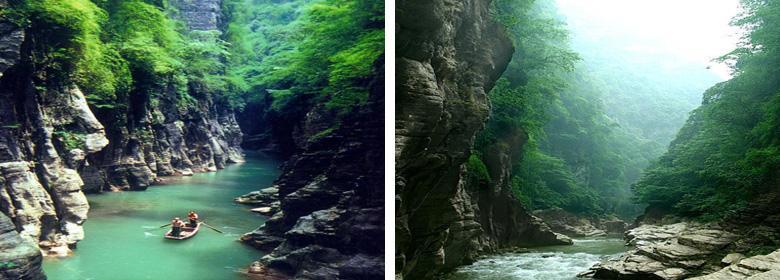 神女溪实景照片