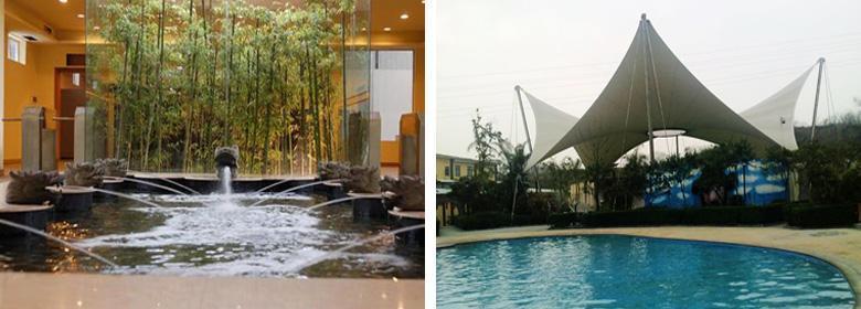 香海温泉是一个集各种旅游度假项目于一体的多功能大型温泉酒店,美丽的环境,特色的温泉,好玩的娱乐设施以及其健康养生的温泉,可以满足游客们的不同需求,而这里还有不同于其它景区的文化景观,独具特色和迷人的魅力,让游客们尽享时尚美丽又健康的新生活。