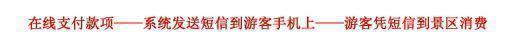 重庆上邦温泉门票购买使用流程图