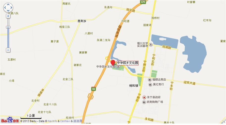 中华回乡文化园地图展示