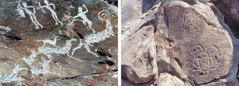 贺兰山岩画图片赏析