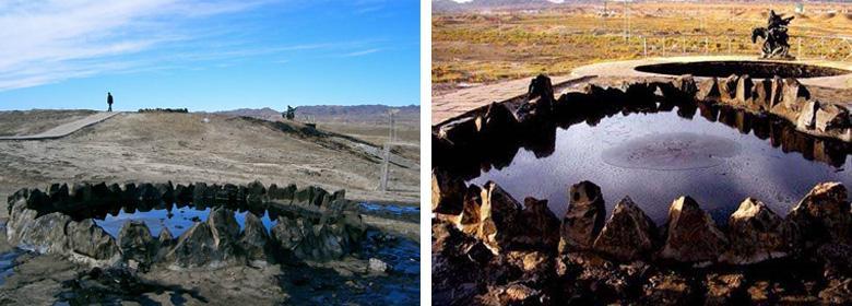 克拉玛依黑油山图片展示