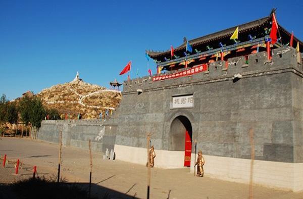 昭君城实景照片
