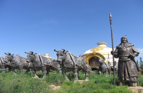 呼和浩特蒙古风情园图片赏析