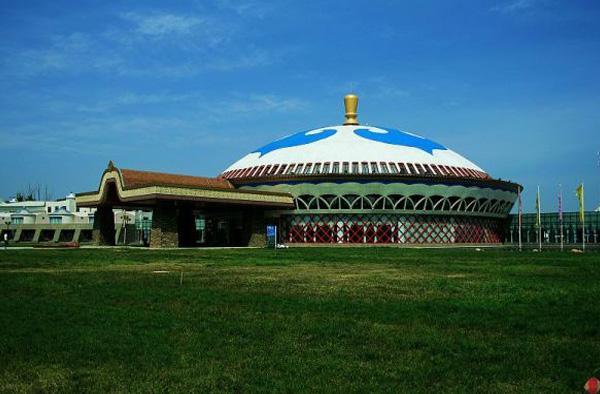 呼和浩特蒙古风情园实景照片