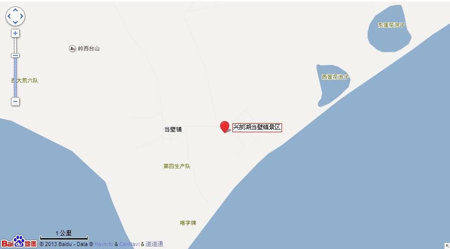 鸡西兴凯湖当壁镇地图展示