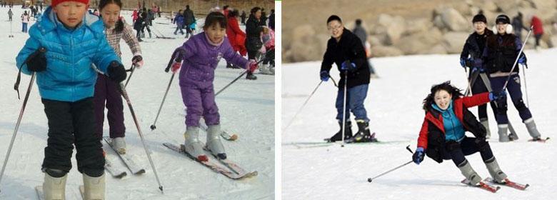 青岛崂山滑雪场