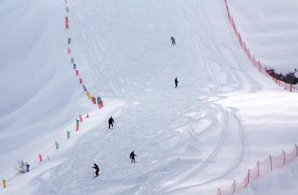 承德元宝山滑雪场图片赏析