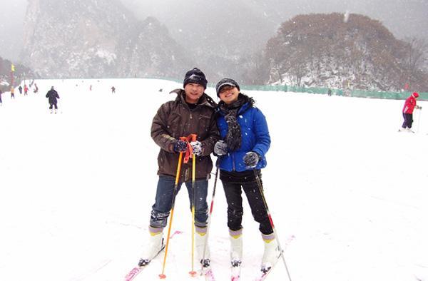 太白山滑雪图片展示