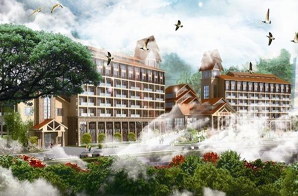 惠州云顶温泉图片赏析