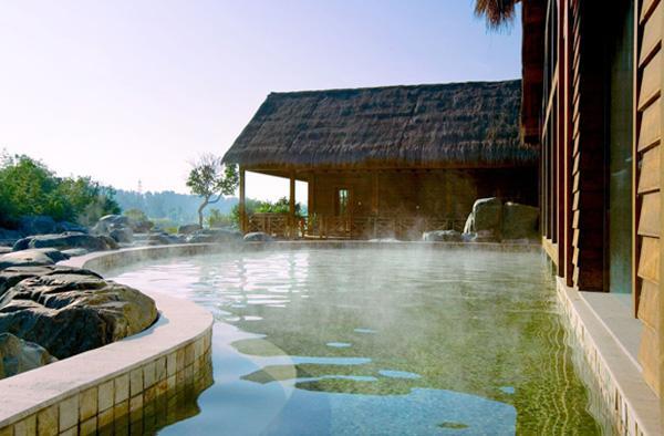 花溪温泉实景欣赏