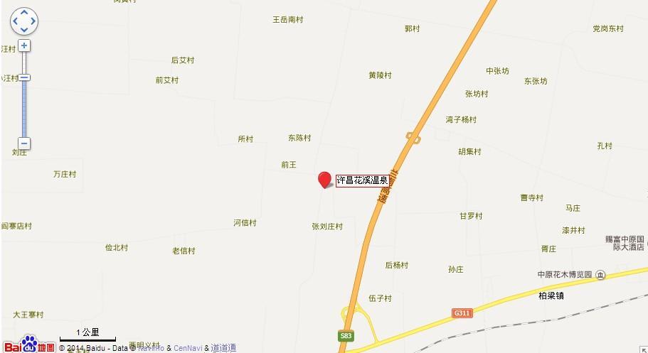 许昌601线路地图