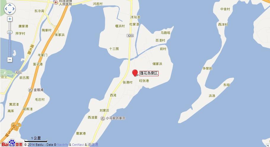 莲花岛地图展示