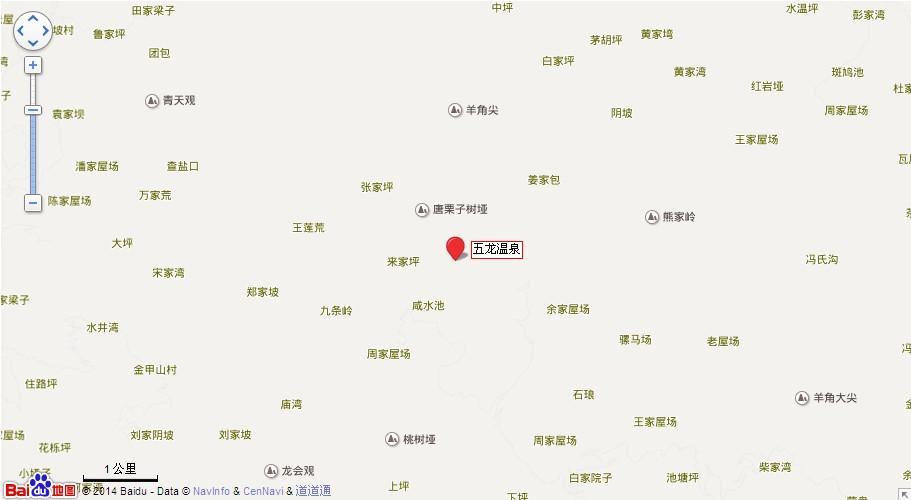 五龙温泉地图展示