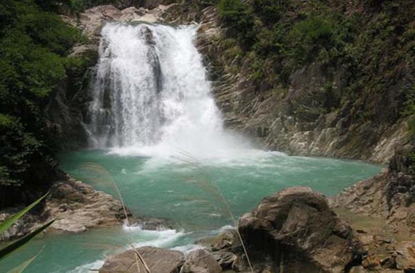 神农大峡谷实景照片
