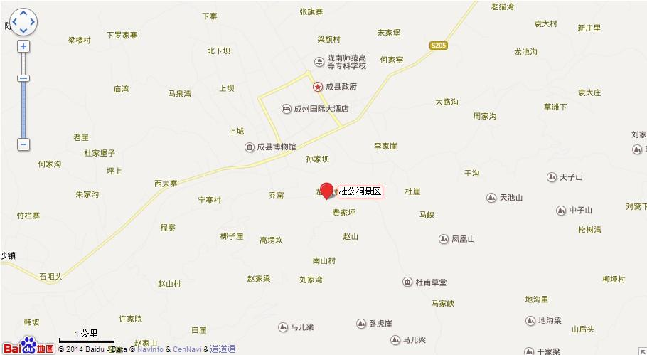 杜公祠地图展示