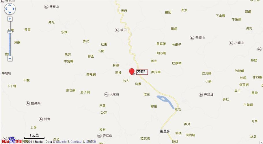 万寿谷地图展示