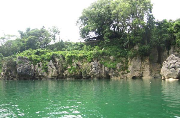 同寿山水实景照片