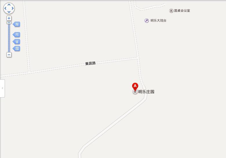 晋中明乐农业生态庄园地图展示