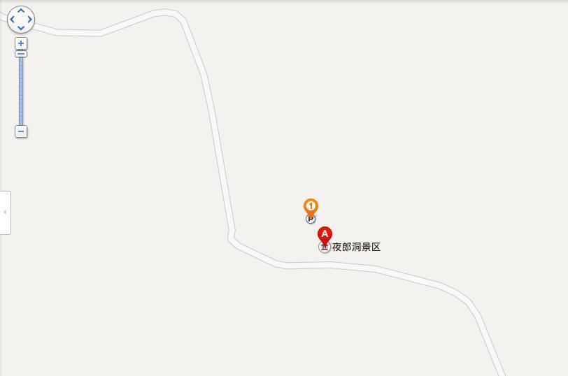 夜郎洞地图展示