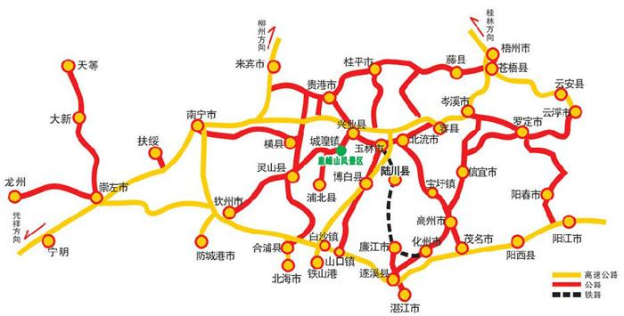 鹿峰山风景区地图