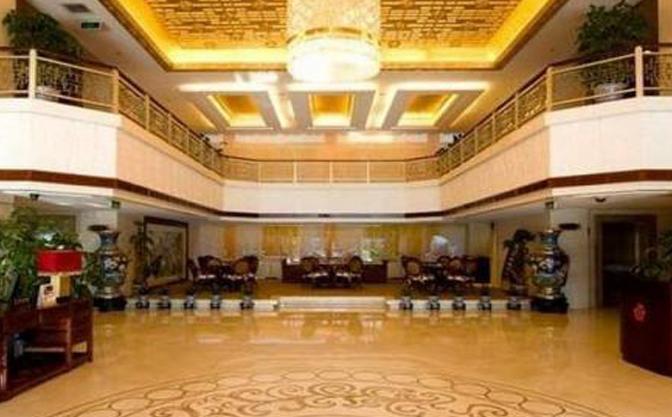 华膳园温泉养生会馆酒店大厅