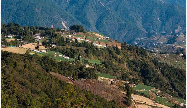 岳阳白寺村景区景色一览