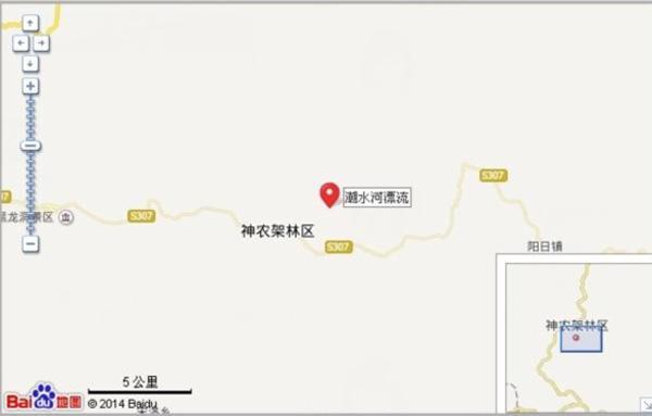 神农架潮水河漂流图片一览