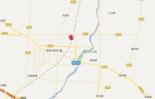 洰淀湖景区地图