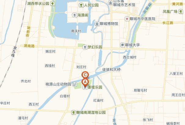 姜堤乐园的路线指南