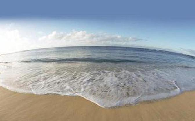 北戴河渔岛美景