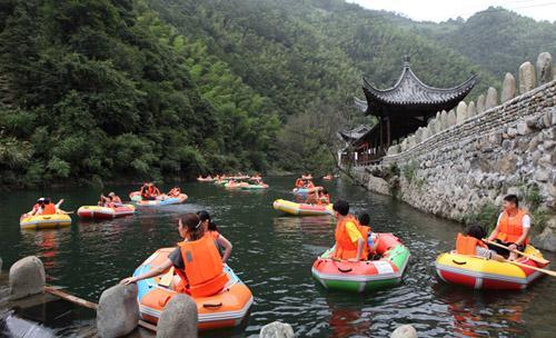 黄山枧潭漂流实景一览