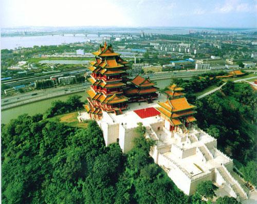 南京阅江楼实景一览