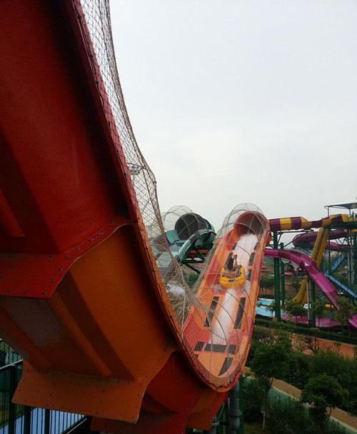 南京欢乐水魔方水上乐园实景一览