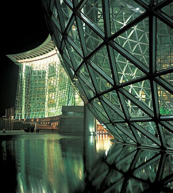 上海科技馆实图一览
