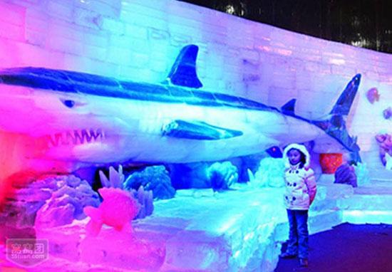 藁城冰雕极地大世界海洋主题展览区